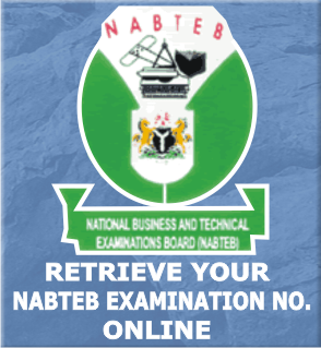 Retrieve your NABTEB Candidate No.