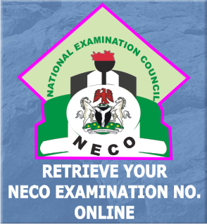 Retrieve your NECO Exam No.